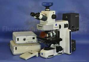 Zeiss Axio Scope a1 Upright Fluorescence Microscope 1 Year Warranty