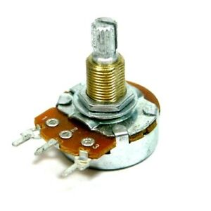 Marshall Amp Potentiometer 24mm 100k Linear Pc Mount