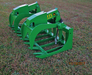 2018 Mtl X series 72 Root Grapple John Deere Loader free Ship
