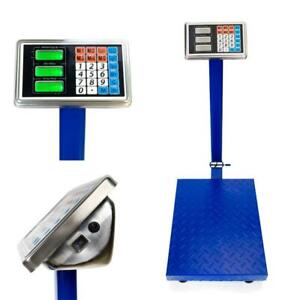 Heavy Duty 660lb 300kg Industrial Platform Postal Weighing Scales Parcel