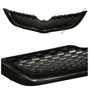 Fit For Toyota Vios Yaris Sedan 2007 2012 Belta Pure Cabon Front Grille Grill