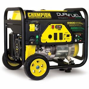 Champion 5500 Watt Dual Fuel Generator 100231