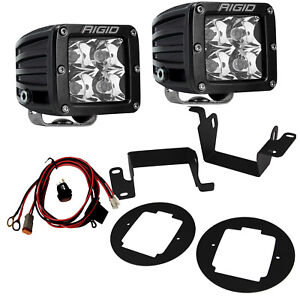 Rigid Led Fog Light Kit With Rigid Pro Lights For 14 17 Toyota 4runner 4 Runner