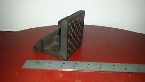 Antiue Combination Block Workholding Fixture Angle Plate Machinist Set Up Metal