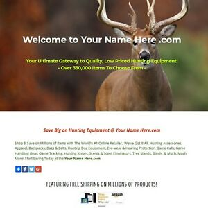 Hunting Business For Sale Game Calls Decoys Clothing Scents Knives
