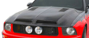 2005 2009 Ford Mustang Carbon Creations Gt500 Hood 106386