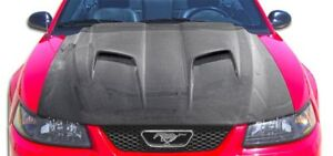 1999 2004 Ford Mustang Carbon Creations Mach 2 Hood 106388