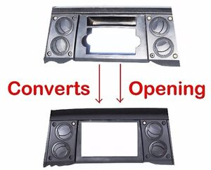 2006 07 Jeep Commander Radio Double Din Dash Install Kit Bezel W Wiring Harness