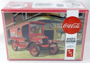 1:25 Scale Coca-Cola 1923 Ford Model T Delivery Truck Model Kit - AMT #1024/12