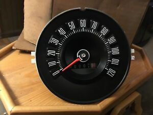 Nos 1972 Ford Thunderbird 120mph Speedometer Assembly New Oem