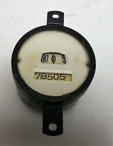 Vintage Stewart Warner Speedometer White Face Chevrolet Chrysler Ford 19