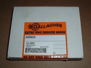 Gallagher Repair Energizer Module For B260 Electric Fencer Type G34019