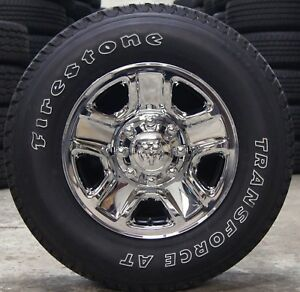 New Dodge Ram 2500 3500 8 Lug Chrome 18 Factory Wheels Rims At Tires 2005 2018
