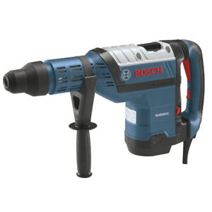 Bosch 1 7 8 In Sds max Keyless Rotary Hammer W Vibration Control Rh850vc New