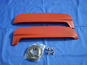 New 1952 1953 1954 Ford Mercury Metal Fender Skirts Pair W Hardware