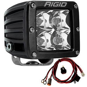Rigid Industries 201123 D Series Pro Led Lights Dually Spot Optics Single Pod