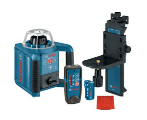 Bosch Grl300hvd Rotary Laser With Receiver Kit