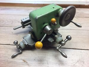 Lorch Swiss German Watchmakers Lathe Compound Cross Slide Carriage