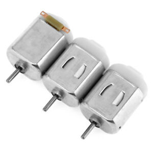 3 Pcs Miniature Small Dc Electric Motors For Toys Diy Arduino Projects 1 6v