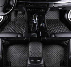 For Jeep Patriot 2009 2015 Leather Car Floor Mats Waterproof Mat