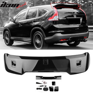 Fits 12 16 Honda Crv Oe Factory Style Roof Spoiler Painted nh731p Crystal Black