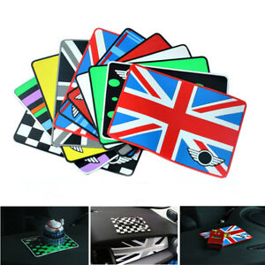 Union Jack Anti Slip Sticky Phone Coin Pad Fr All Mini Cooper Clubman Countryman