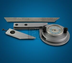 6 Dial Universal Bevel Protractor Stainless Steel
