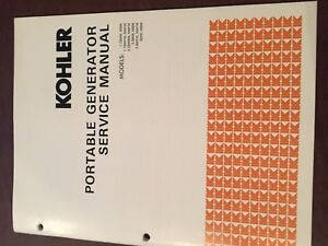 Kohler Generator Model Rv Service Manual 1979