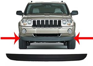 Replacement Front Bumper Air Dam Valance For 2005 2007 Jeep Grand Cherokee New