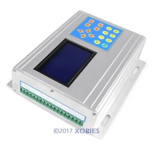 New 3 Axis Cnc Stepper Motor Driver Tb6560 Set Lcd Display Handle Controller
