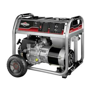 1650 Series Ohv 5000 Watt New Briggs And Stratton Portable Generator 030607