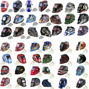 Auto Darkening Welding Helmet Mask Welders Grinding Function Solar Power Lens