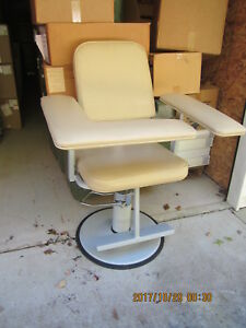 Height Adjustable Blood Draw Chair Medtek Custom Comfort New Other 1 200 Retail