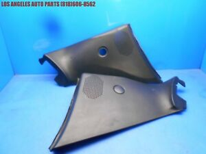 Porsche 944s2 968 Convertible Rear Inner Side Quarter Panels Speaker Cover Black
