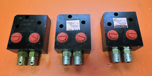 Eaton Vickers Hydraulic Valve Lot Of 3