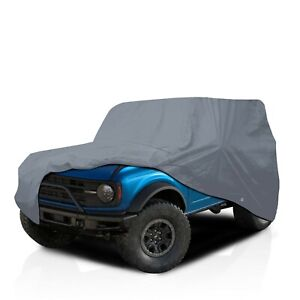 csc 5 Layer Full Compact Suv Car Cover For Ford Bronco 1966 1977