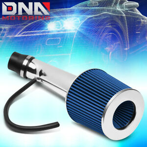 For 1996 2000 Honda Civic Ex Hx Short Ram Air Intake System Kit W Blue Filter