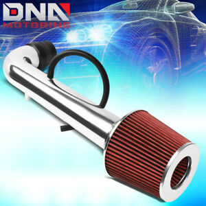 For 1996 2000 Honda Civic Cx dx lx Engine Short Ram Air Intake Kit W red Filter