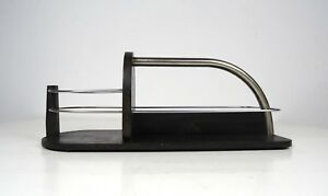 Rare Original Art Deco Streamline Bottle Carrier 1925 Bottle Holder Bauhaus