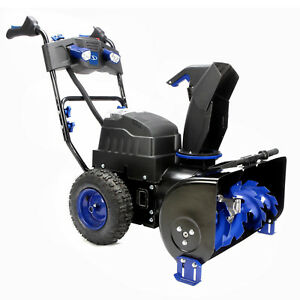 Snow Joe Ion8024 ct 24 Inch 2 Stage Cordless Electric Snow Blower No Batteries