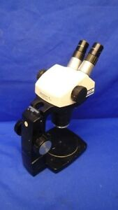 Bausch Lomb Stereozoom 6 0 67x 4 0x W adjustable Stand 10x W f Eyepieces