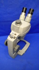 Bausch Lomb 0 7x 3x Microscope W adjustable Focus Stand 10x Eyepieces