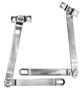 1966 77 Ford Bronco Tailgate Supports Stainless Pair New