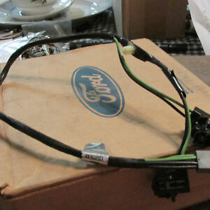 Nos 1985 1986 1987 Ford Thunderbird Third Brake Light Wiring Harness New Nos