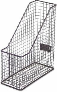 Universal Office Products Unv20060 Vintage Wire Mesh Magazine Holder