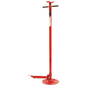 Sunex Tools 1 500 Lb Under Hoist Stand With Foot Pedal 6810 New