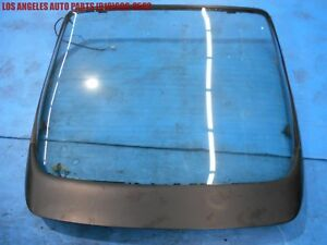 Porsche 944 924 968 Rear Hatch Glass Lid With 968 Spoiler Wing Oem