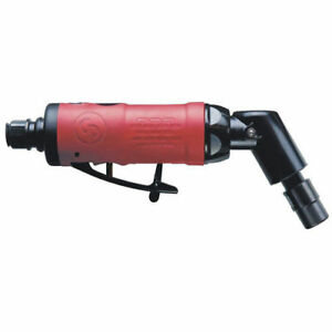 Chicago Pneumatic 1 4 In Heavy duty Angle Head Air Die Grinder 9108qb New