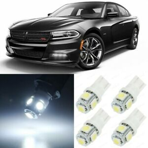 17 X Xenon White Interior Led Lights Package For 2015 2019 Dodge Charger Tool