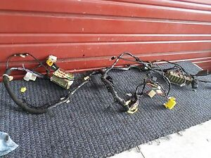 2000 Jeep Wrangler Sahara Interior Dash Wire Harness P5600509aj Oem